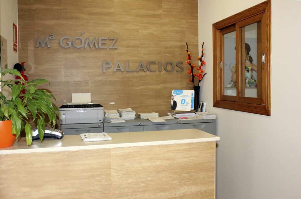 Administración de la Clínica Dental María Gómez Palacios - Cartaya (Huelva)