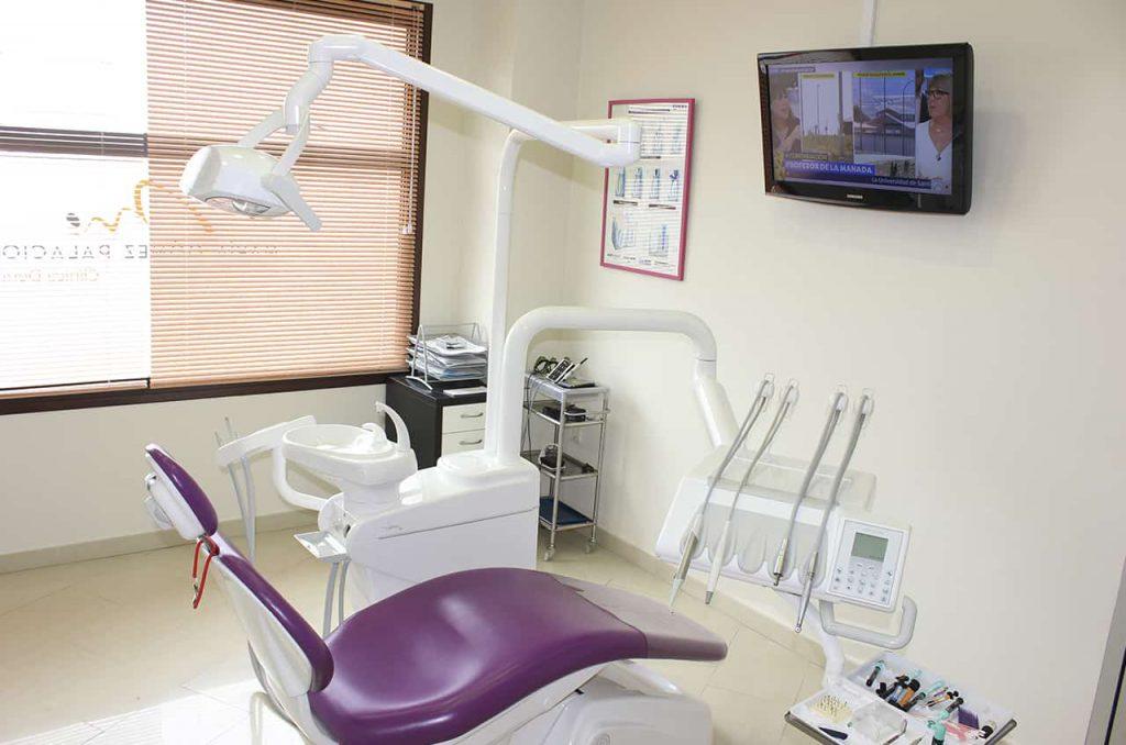 Instalaciones dentales modernas y acogedoras - Clínica Dental María Gómez Palacios - Cartaya (Huelva)